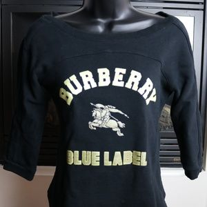 Burberry Long Sleeve Blue Label Size 38
